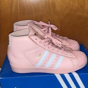Pink adidas PRO MODEL J